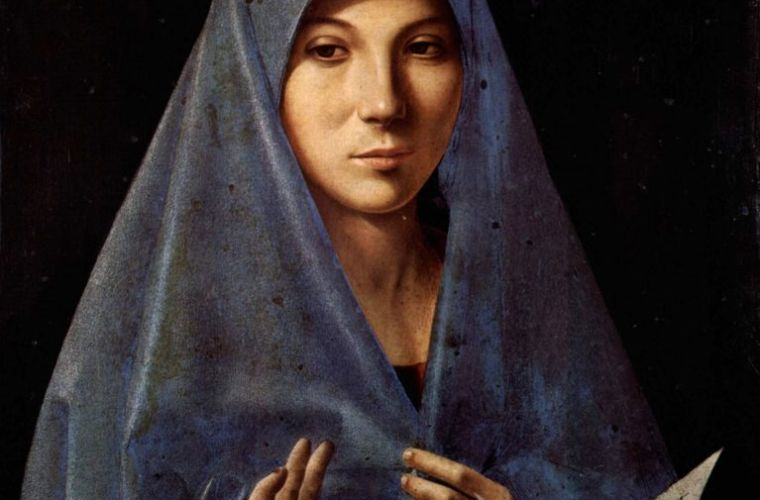 Annunciata Virgin by Antonello da Messina
