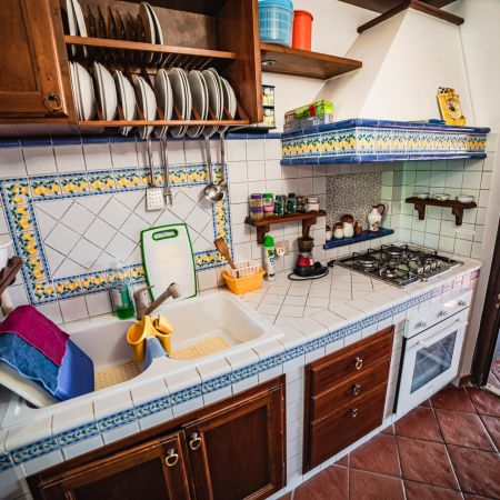 Typical sicilian kitchen