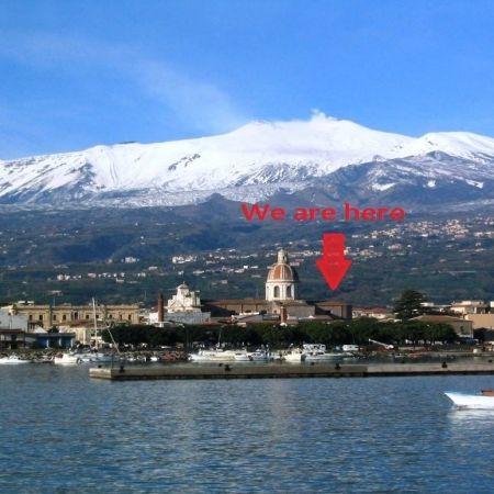 Etna volcano, the big eye of Sicily