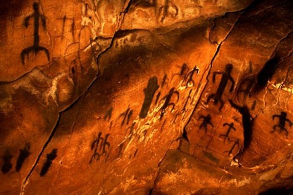 Genovese Cave, human dance