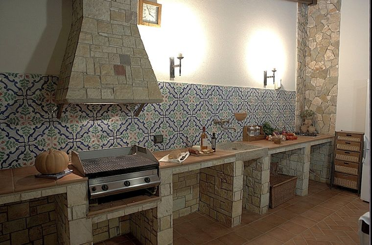Patio and BBQ: taste Sicilian fish