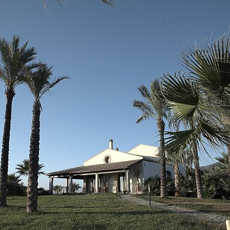 Palm trees as a real Sicilian house should have