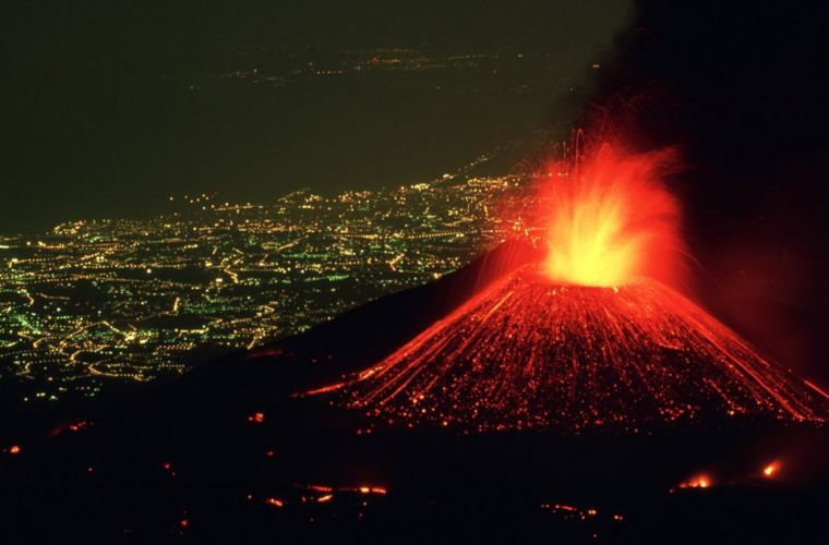 Etna, 15 km's away