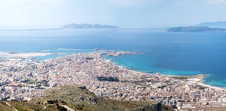 Trapani and Egadi islands, 5 km's