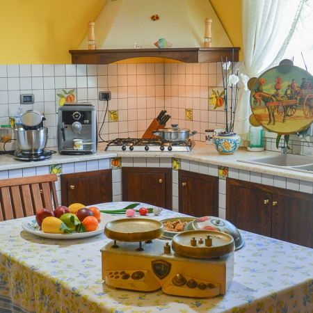 The house has a great kitchen since Mary, the owner, is a very nice cook