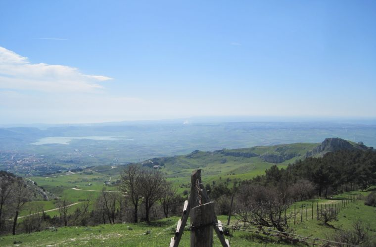 From San Genuardo natural reserve to Adranon