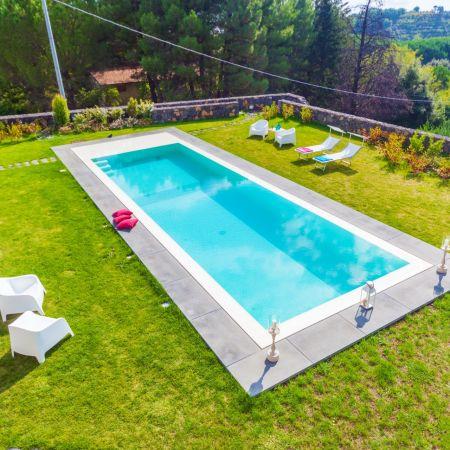 The stylish pool