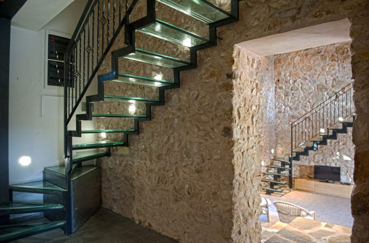 Stone and staircase