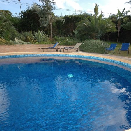 he property is surrounded by a well-finished and lush garden where is located the pool.