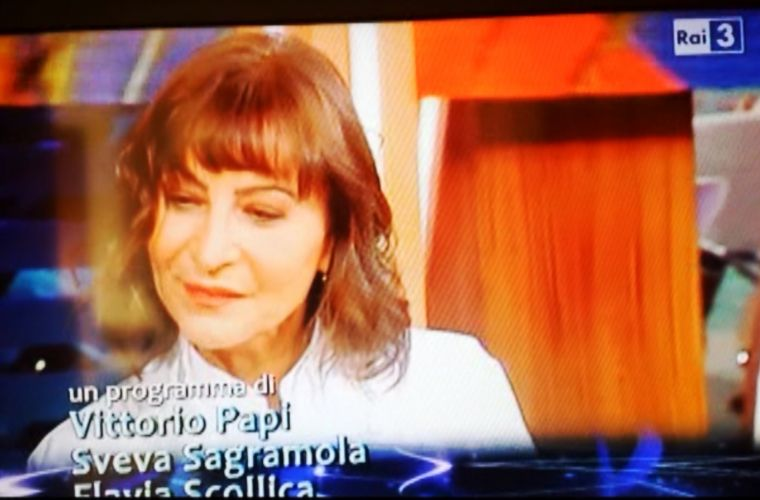 Italian Public Network (Rai): Silvana has realized an entire episode focused on Sicilian carobe fruit recipe
