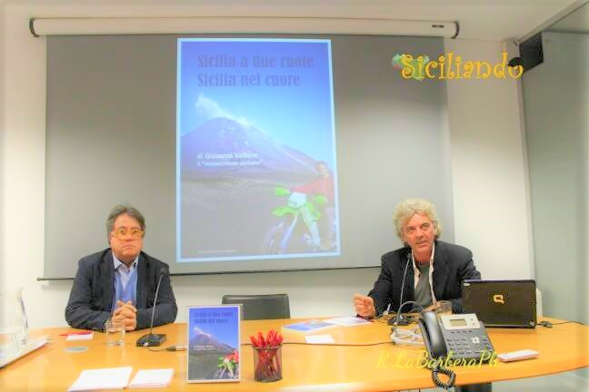 Book presentation with my friend Sebastiano Tusa, one of the most renowned archaeologist in the world