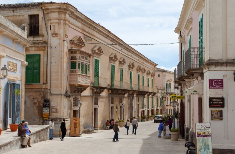 Ragusa (10 km's) it's a Unesco's world site for Baroque style.