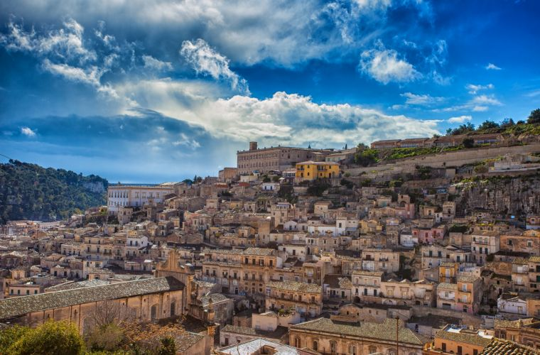 Modica (15 km's) it's a Unesco's world site for Baroque style.
