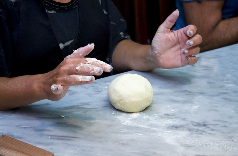 The making of pasta fresca: dough
