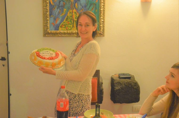 Beata from Sweden: happy (Sicilian) birthday