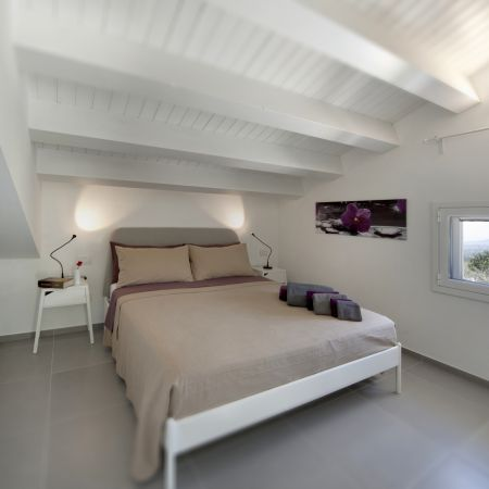 In the ground floor you will find is a single bedroom, a double bedroom and a bathroom with a shower.