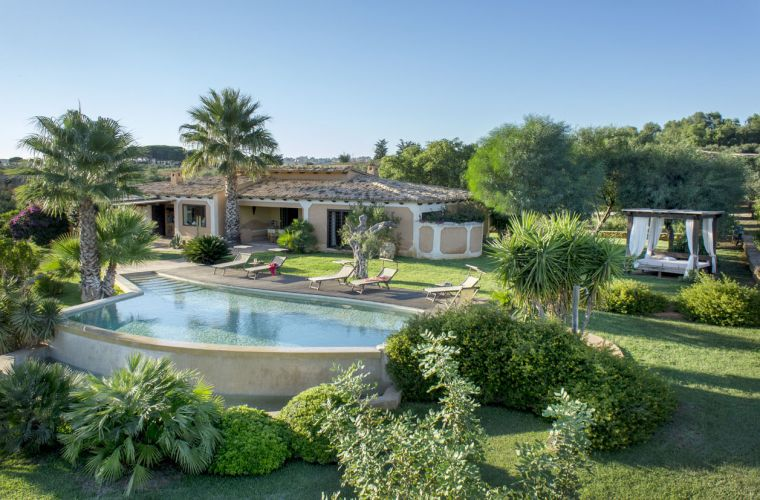 Overview of this great villa