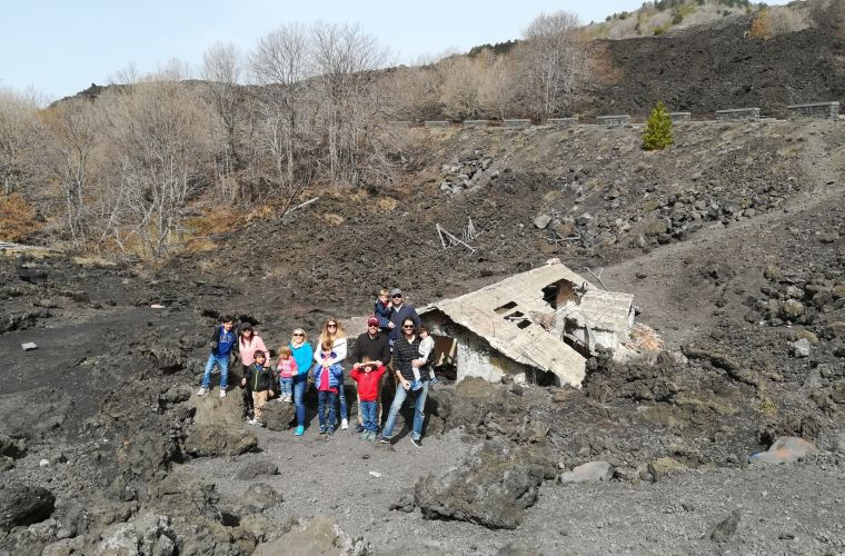 Visiting Etna volcano area
