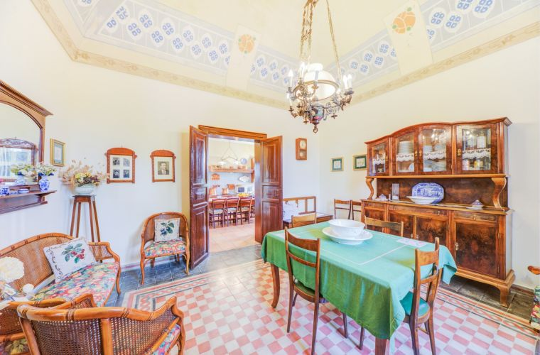 The villa shows us in every minimal detail the past and life of a Sicilian aristocratic family.